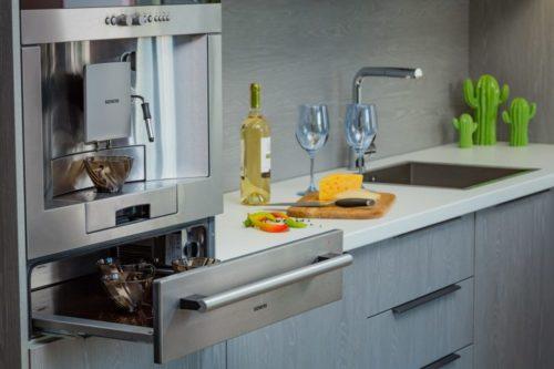 кухни с островом модерн